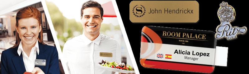 Badges voor hotels & restaurants