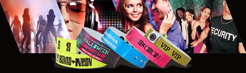 Polsbandjes voor nachtclubs & bars