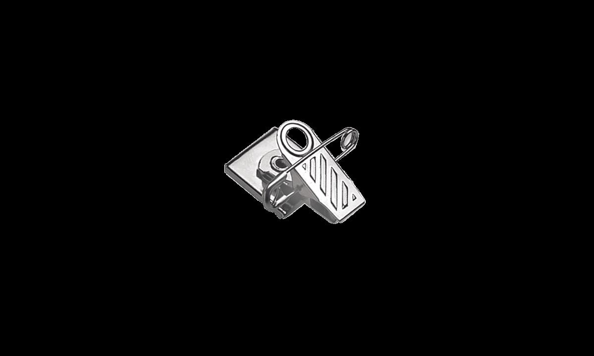 Draaibare pin-clip-bevestiging met schuimband