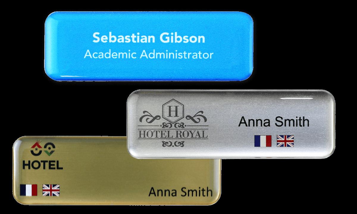 Premium Impress Naam badge, 75 X 25 mm