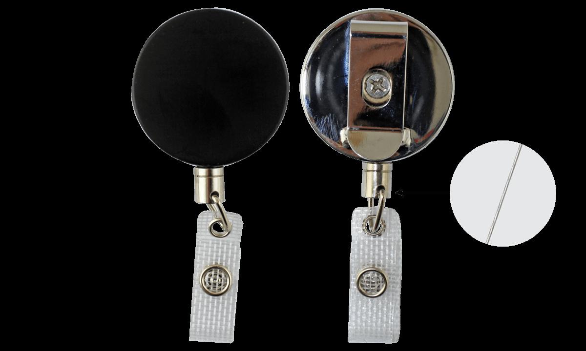 Stevige jojo met stalen koord & versterkt transparente vinyl bandje