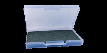 Draagkoffer met kaartorganiser van schuim