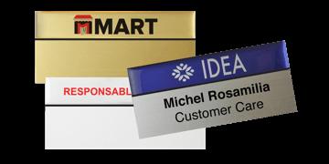Premium Herbruikbare Naam badge, 75 X 38 mm - 24 mm zelfklevende etiketten