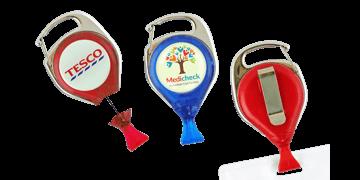 Personaliseerbare No-Twist karabijnjojo met kaart clip