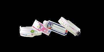 Plastic polsbandjes 19mm voor kinderen - digitale kleurafdruk, foto kwaliteit