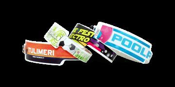 Plastic polsbandjes 25mm - digitale kleurafdruk, foto kwaliteit
